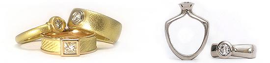 Diamond Rings - Jewelry Designs Handmade by Martinus