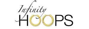 Designer jewelry infinity_hoops earring collection